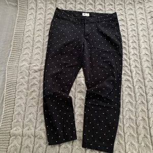 Old Navy High-Waisted Patterned Pixie Ankle Pants